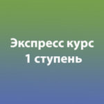 Экспресс курс. 1 ступень метод Бронникова.